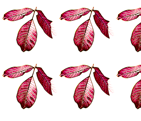 Leaves fabric by anderssonochbrunk on Spoonflower - custom fabric