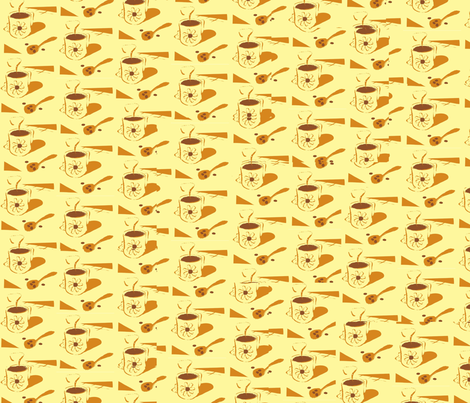 coffee-1 fabric by scifiwritir on Spoonflower - custom fabric