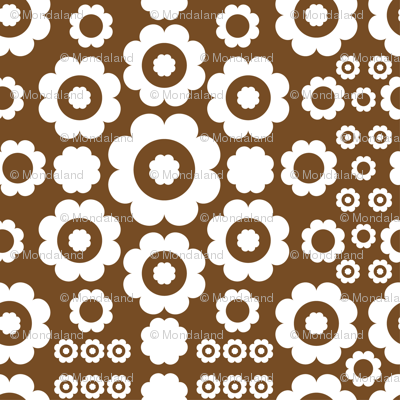 Flower Power (Brown)