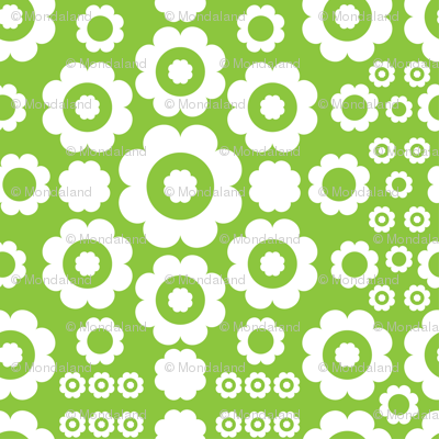 Flower Power (Green)