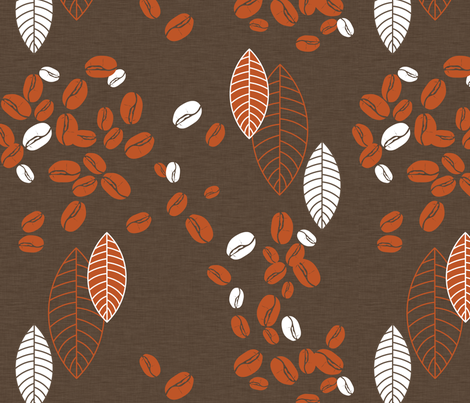 Spilled Beans fabric by newmom on Spoonflower - custom fabric