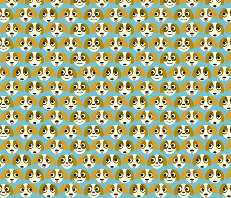puppies! fabric by heidikenney on Spoonflower - custom fabric