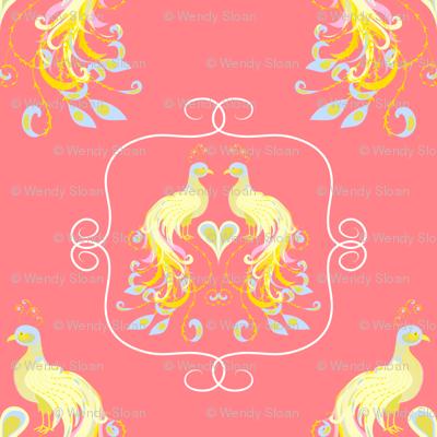 Peacocks Love Pink Lemonade