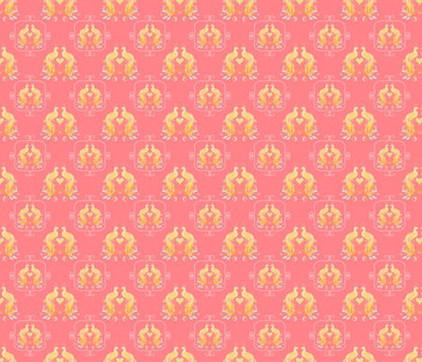 peacockpinklemonade-ed-ch fabric by wendyg on Spoonflower - custom fabric