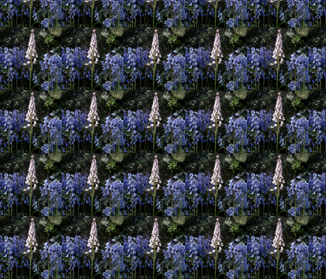bluebells fabric by barakatblessings on Spoonflower - custom fabric