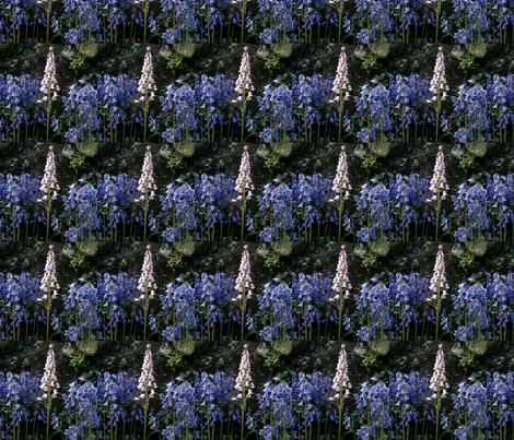 bluebells fabric by barakatblessings on Spoonflower - custom fabric