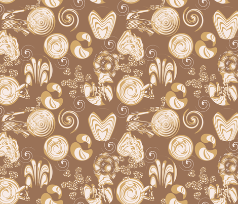 Latte Art fabric by creative8888 on Spoonflower - custom fabric