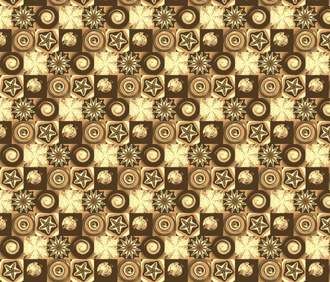 coffee with cream- fabric by mejo on Spoonflower - custom fabric