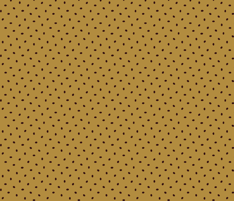 Coffee bean dots on cafe au lait fabric by victorialasher on Spoonflower - custom fabric