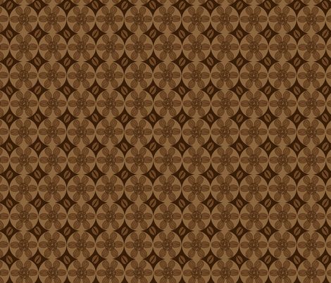 Coffeeee!!!!!!!!brown fabric by beebumble on Spoonflower - custom fabric
