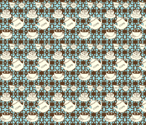 Pretty Pick-me-up fabric by mytinystar on Spoonflower - custom fabric