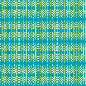 Bumpy Lines in Aqua