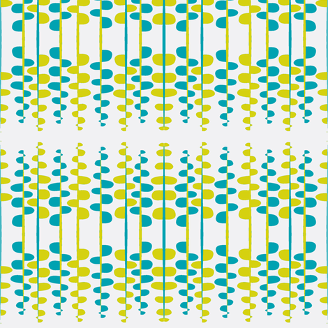 Bumpy little lines on white fabric by studio30 on Spoonflower - custom fabric