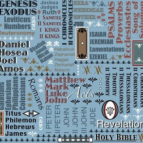 Books of The Bible 102 161 187
