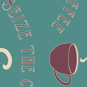 Seize the Coffee - bluegreen-175 - rotate