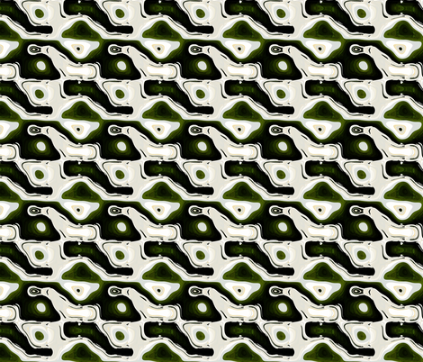 Seagull Abstract 2, S fabric by animotaxis on Spoonflower - custom fabric