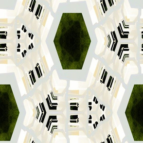 Seagull Kaleidoscope Design, L