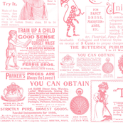 Old Ads Pink