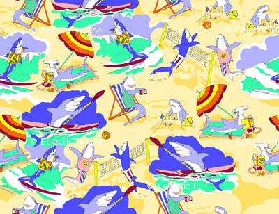 Sharks on the Beach 2