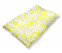 bosporus_tiles mustard white silk crepe de chine