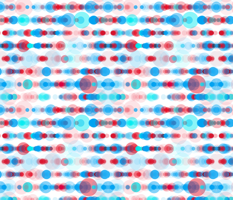 apple sky bubble rain fabric by sol on Spoonflower - custom fabric