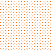 Tea Party Orange Dots