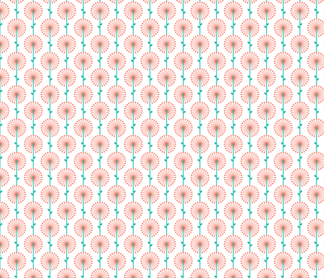 Pink Lehua, Small fabric by ravenous on Spoonflower - custom fabric