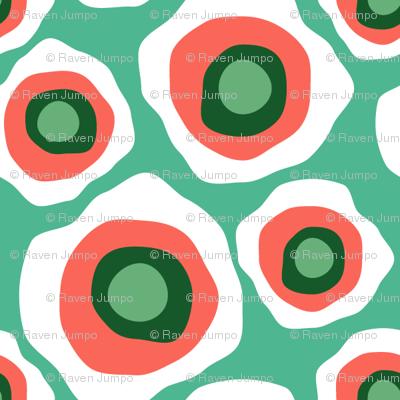 Fried Circles Minty Peach