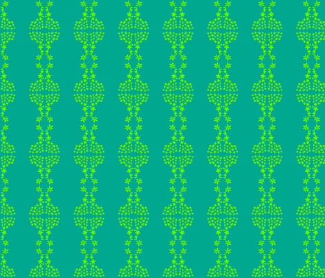 parterre in emerald and lime fabric by mimi&me on Spoonflower - custom fabric