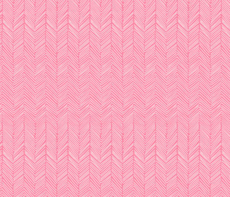 freeform arrows in lipstick fabric by domesticate on Spoonflower - custom fabric