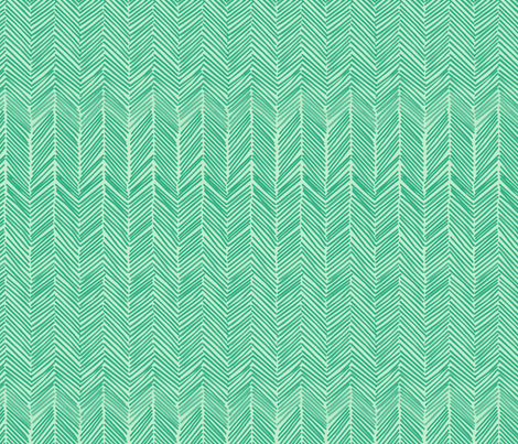 freeform arrows in mint fabric by domesticate on Spoonflower - custom fabric