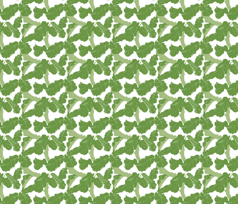 Tropicali Afternoon Dollhouse Scale fabric by domesticate on Spoonflower - custom fabric