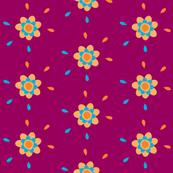 Floral Drops - Joyful Garden - © PinkSodaPop 4ComputerHeaven.com