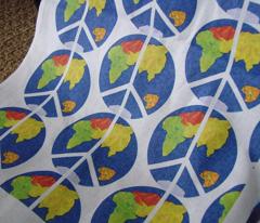 World Peace Fabric