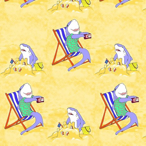 Rrrrrrsandcastle_sharks_fabric_shop_preview