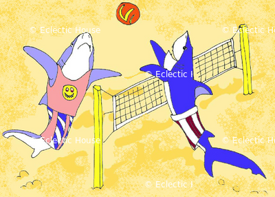 Volleyball Sharks