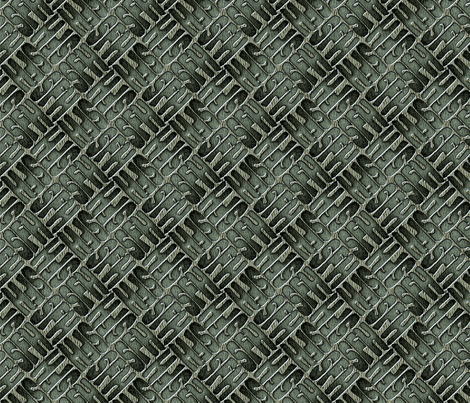 ©2011 monogram - sfh 03b fabric by glimmericks on Spoonflower - custom fabric