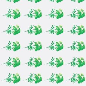 tee rose green