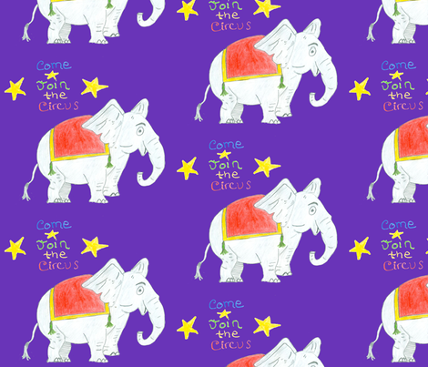 Elephant_3 fabric by macey on Spoonflower - custom fabric