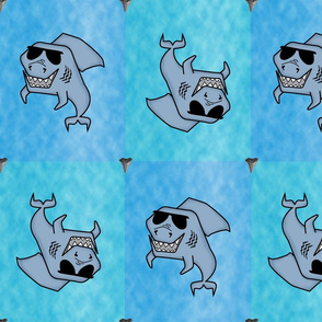 Shark Teeth, The Ocean's So Bright You Gotta Wear Shades!