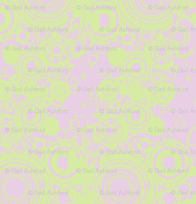 green swirl droplets