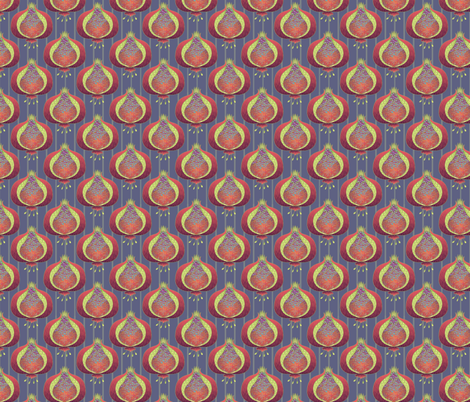 ©2011 pomegranate_delight - smaller fabric by glimmericks on Spoonflower - custom fabric