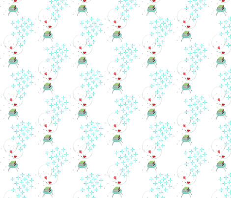 inspired by fabric by gretchenmist on Spoonflower - custom fabric