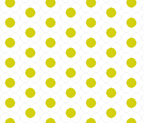 unfolded mustard fabric by gretchenmist on Spoonflower - custom fabric
