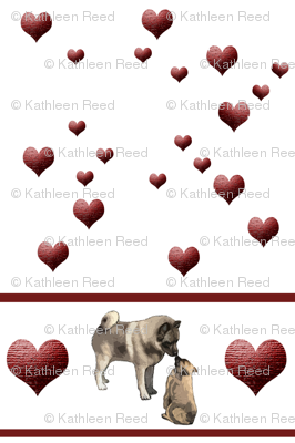 Norwegian Elkhound Hearts