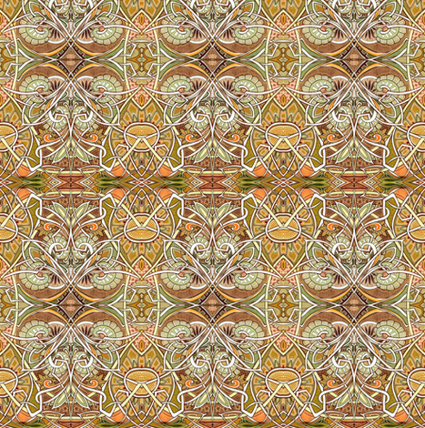 1922, Here I Come fabric by edsel2084 on Spoonflower - custom fabric