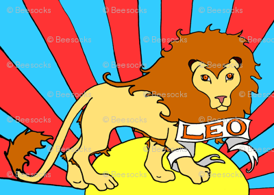 Psychedelic Leo Lion