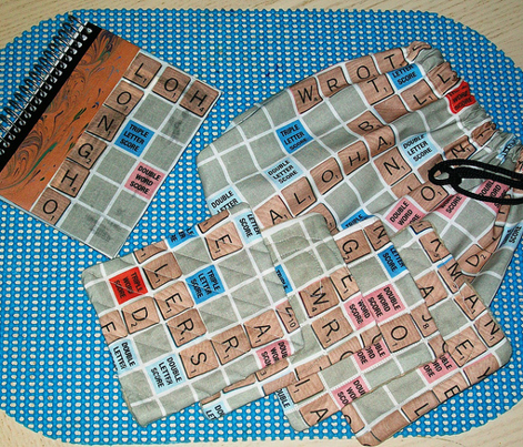 Word Game Solid Print