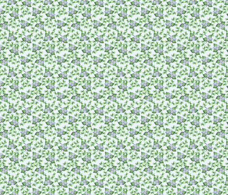 ©2011 floralsky fabric by glimmericks on Spoonflower - custom fabric