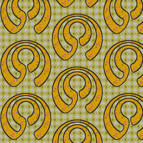 Apple Curl (Black) fabric by david_kent_collections on Spoonflower - custom fabric